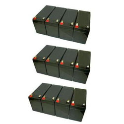 powerware 9130 3000 ebm battery set rack