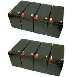 powerware 9130 1500 ebm tower battery set