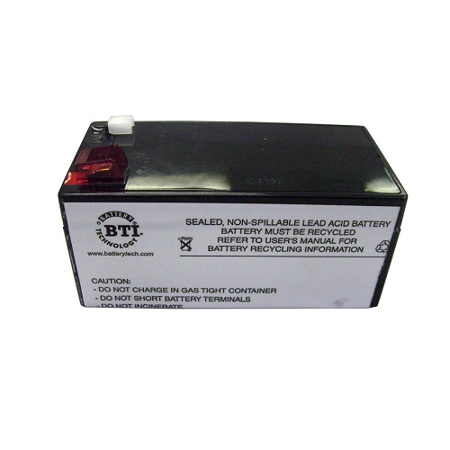 Replacement battery apc back ups xs 1500
