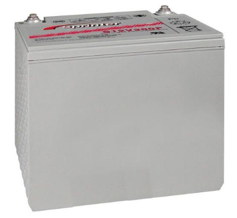 gnb s12v300f 12 volt 306 watts per cell sealed lead acid battery. Black Bedroom Furniture Sets. Home Design Ideas