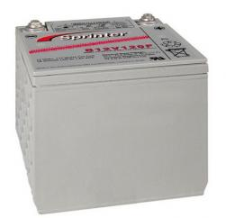 GNB S12V120F 12 Volt 117 Watts Per Cell sealed lead acid battery. (S12V120F)