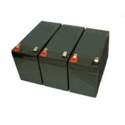 Best Power LI1020 - (3) BAT-0370 Replacement UPS Battery