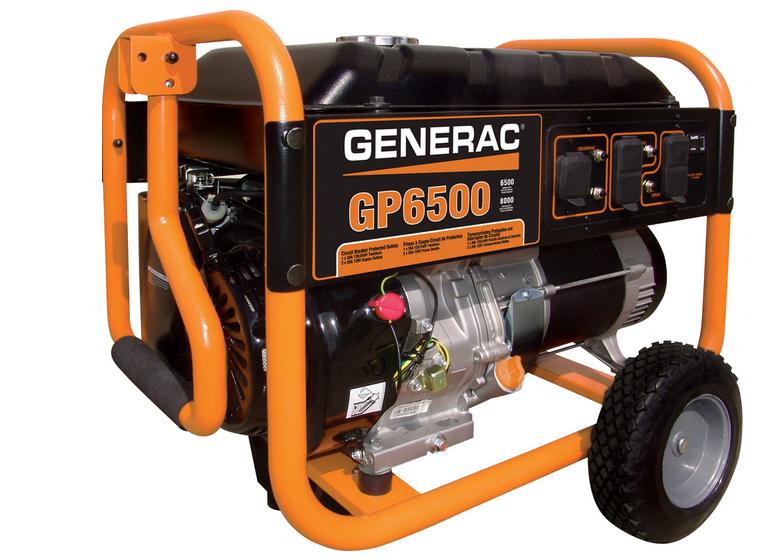 Generac GP6500 - Manual