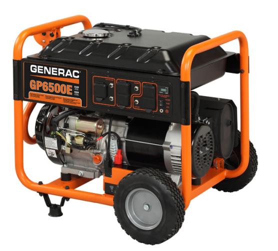 Generac Gp6500e Model  5941