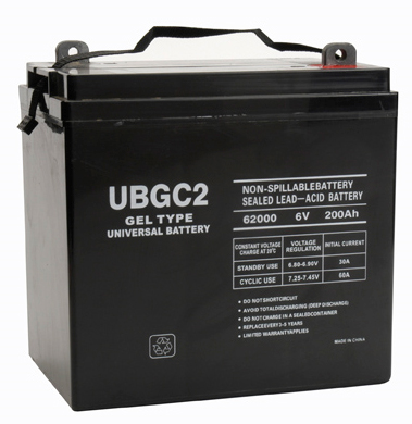 ubgc2 6 volt golf cart battery. Black Bedroom Furniture Sets. Home Design Ideas