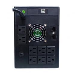 1000VA Office Pro LCD Rear View