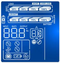 Online RT LCD display