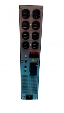 2200va line interactive rear panel