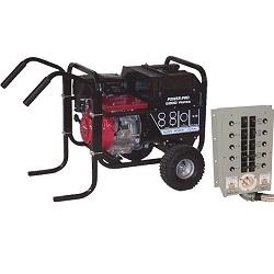 Gillette Gladiator PP-75HGS 7.5kW Generator System